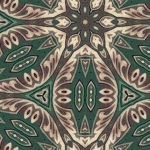 Green Tie Floral