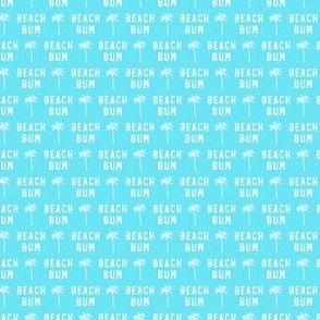 (micro scale) beach bum - blue - C20BS