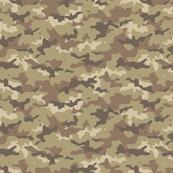 small camouflage // desert