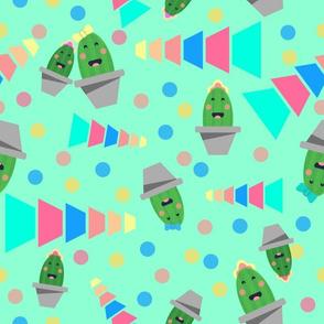 Little Cactus Happy Cactus mint