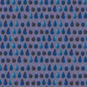 rain drops on purple