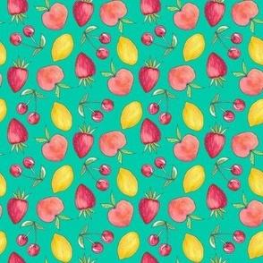 Feeling Fruity Print | Green
