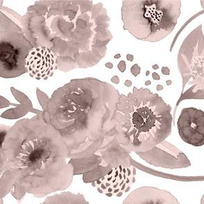 Blossoming Love | small | sepia