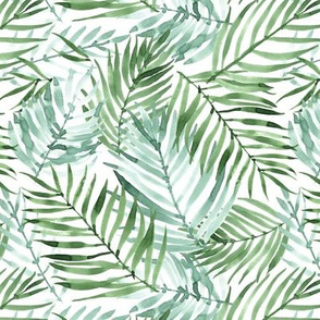 Watercolor Tropics - smaller scale