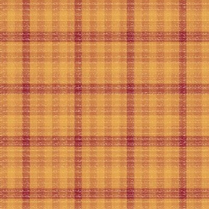 Red and Yellow Plaid