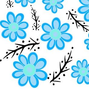Blue Spring White