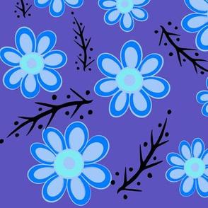 Blue Spring Purple