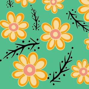 Yellow Spring Green