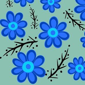 Blue Spring Green