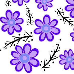 Purple Spring White
