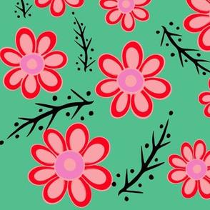 Red Spring Green