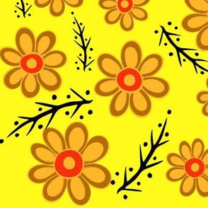 Orange Spring Yellow