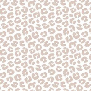 Chunky fat leopard print animals fur modern Scandinavian style raw brush  abstract trend sand beige neutral boho summer