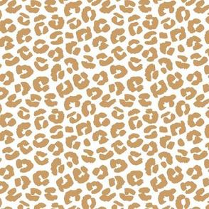 Chunky fat leopard print animals fur modern Scandinavian style raw brush  abstract trend moody ochre neutral boho summer