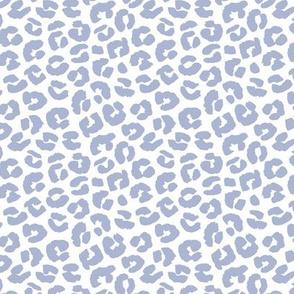 Chunky fat leopard print animals fur modern Scandinavian style raw brush  abstract trend coop blue summer