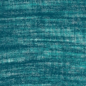 Coarse linen texture- turquoise blue