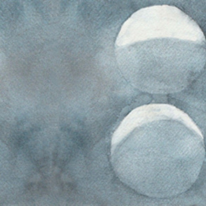 scarf - moon phases