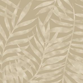 Jungle Shadows- tan large