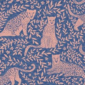 Jungle Cat - Classic Blue