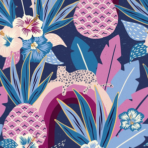 blue tropical fantasy/jumbo scale
