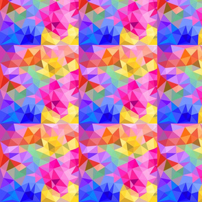 Rainbow Neon Prisms Full