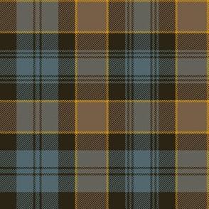 "Campbell of Breadalbane tartan #2, 8"" faded muted"