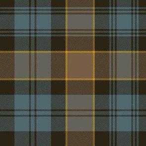 "Campbell of Breadalbane tartan #2, 10""  faded muted"