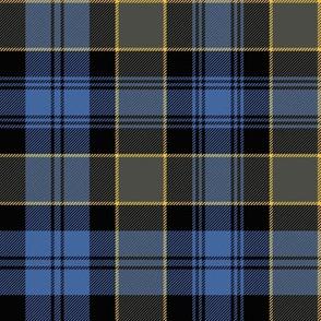 "Campbell of Breadalbane tartan #2, 8"" faded"