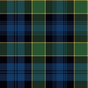 "Campbell of Breadalbane tartan #2, 8"" muted dark"