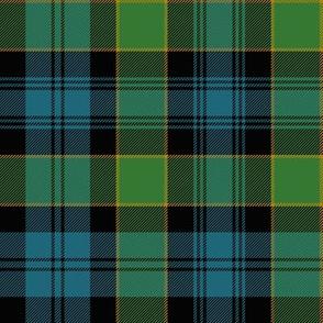 "Campbell of Breadalbane tartan #2, 8"" ancient"