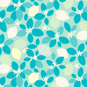 Lemon Pop XL turquoise by Pippa Shaw