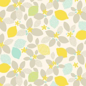 Lemon Pop XL yellow by Pippa Shaw