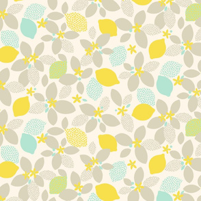 Lemon Pop L yellow by Pippa Shaw
