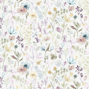 Spring Floral meadow - MEDIUM scale