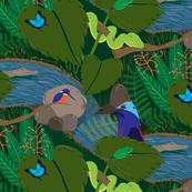 Animalier in the Australian Rainforest