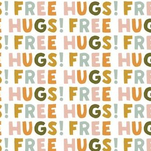 FREE HUGS! - multi - warm - LAD20