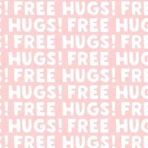 FREE HUGS! - pink - LAD20