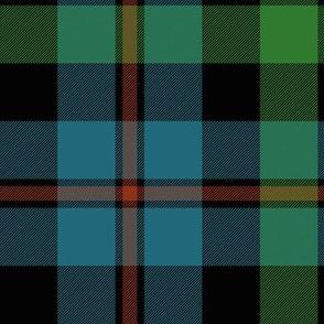 "Campbell of Cawdor tartan #2, 10"" muted"