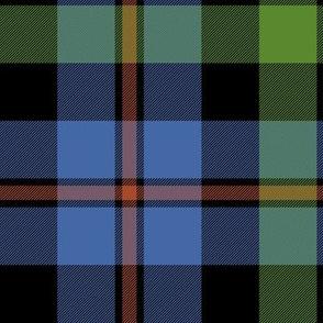 "Campbell of Cawdor tartan #2, 10"" ancient"