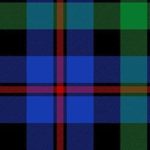 "Campbell of Cawdor tartan #2, 10"" bright"