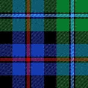 "Campbell of Cawdor tartan #2, 8"" bright"