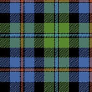 "Campbell of Cawdor tartan #2, 6"" ancient"