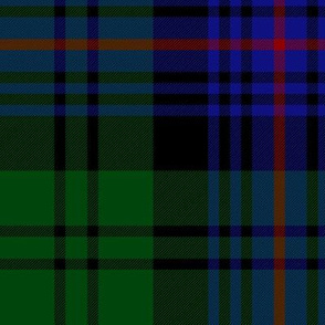 """Armstrong old tartan, 10"""" bright"""