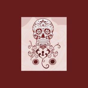 rose skull edit