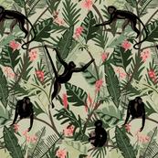 Monkeys - Light Green - Medium