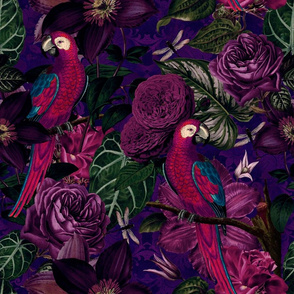 Dark Jungle Birds