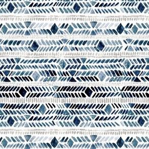 diamond stripe - blue   gray