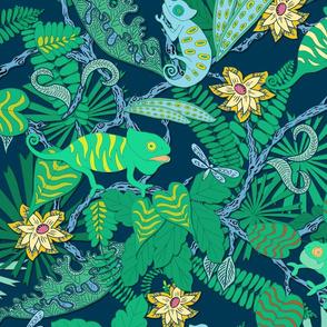 Chameleon habitat, 24 inch wallpaper