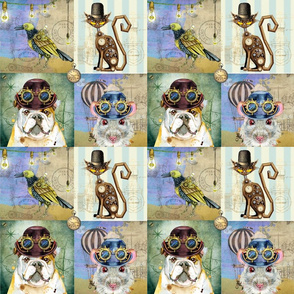 Steampunk animals (small scale)