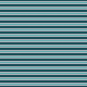 Cool Summer Small Scale Green Gray Blue Stripes Seasonal Color Palette